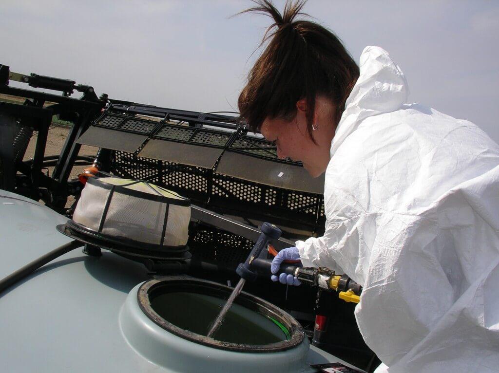 Sprayer Cleaning