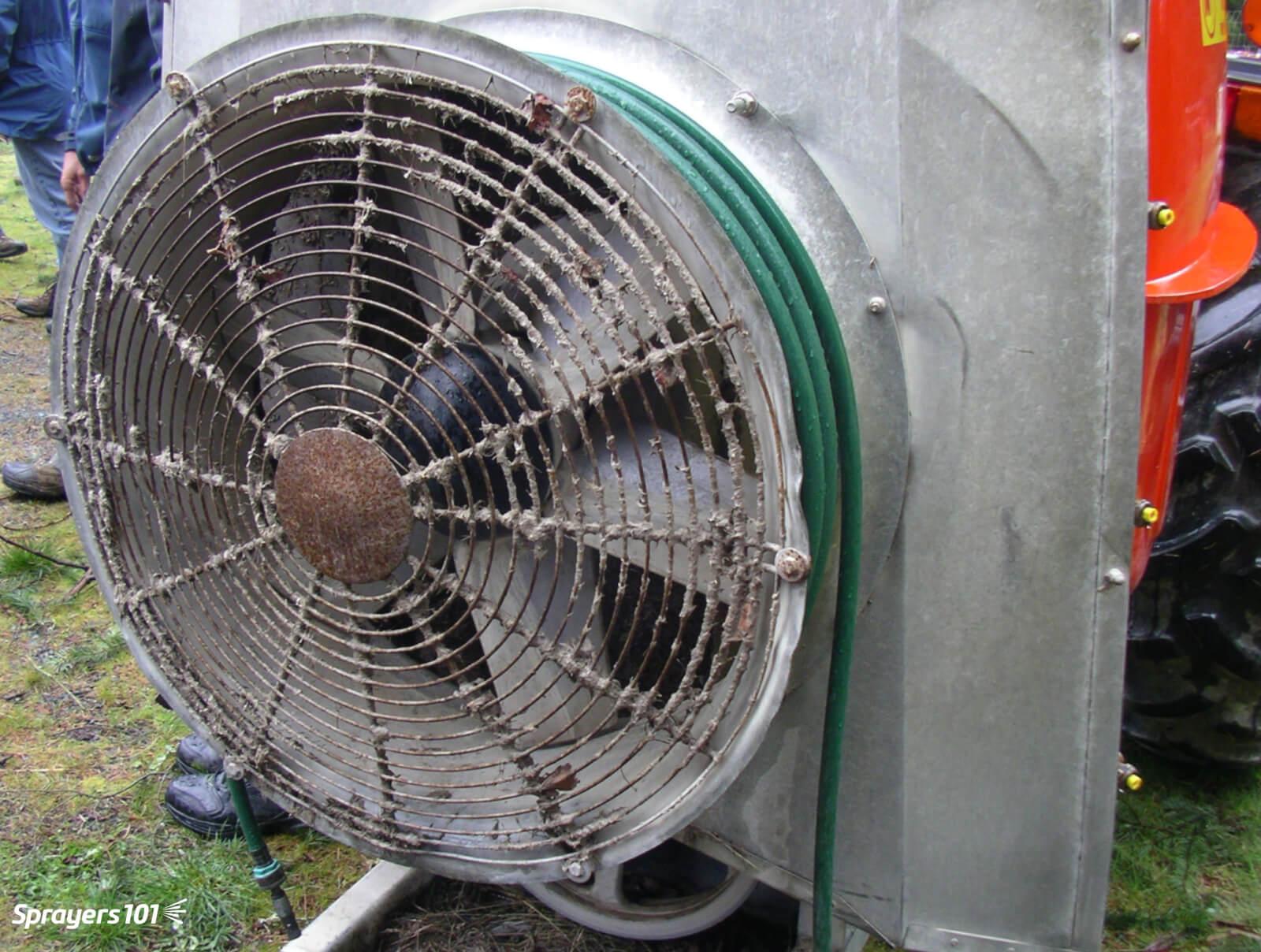 Airblast maintenance – pre-season   Sprayers 101
