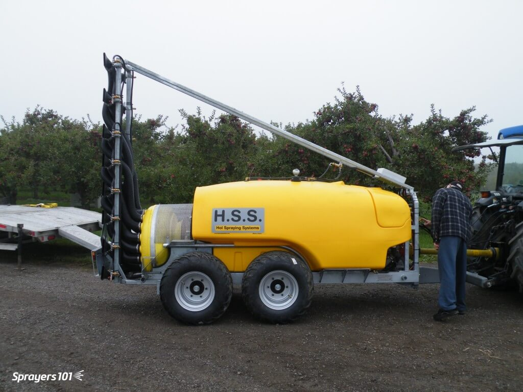 This Hol sprayer is a Holland import and is relatively new to Ontario.