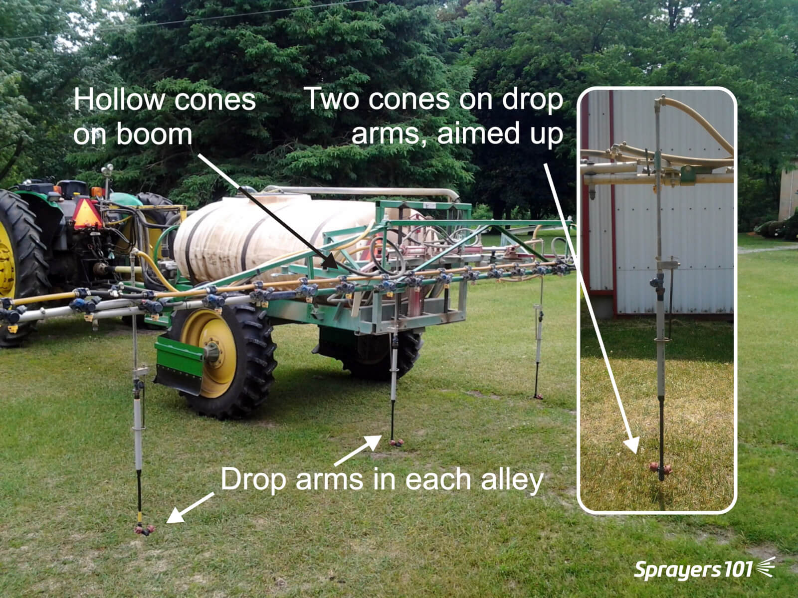 The perfect sprayer boom for ginseng? | Sprayers 101