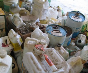 Safely dispose of unused, unwanted or obsolete pesticides and their containers.