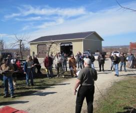 Speaking with Ontario apple growers in 2011