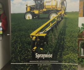 Spraywise - Broadacre Application Handbook by Dr. Jorg Kitt (published by Nufarm, Australia)
