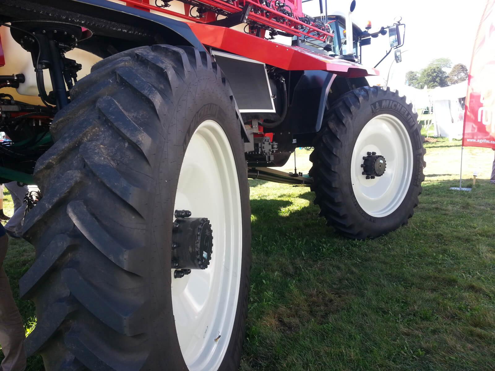 Agrifac Condor 4-wheel steer