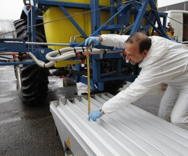 Sprayer Calibration in Belgium